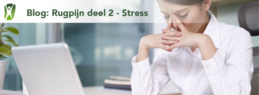 Rugpijn door stress