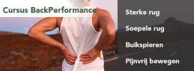 Een sterke en soepele rug waar je op kunt vertrouwen met minder risico op rugpijn.