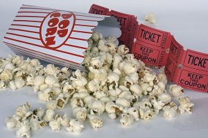 Bij een bioscoopfilm hoort popcorn