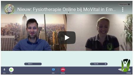 Online fysiotherapie consult