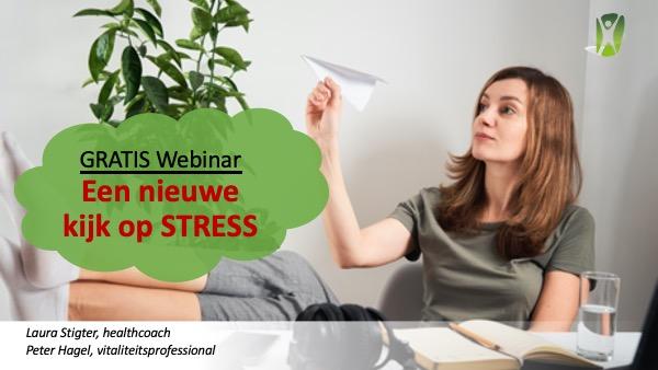 Gratis webinar over stress